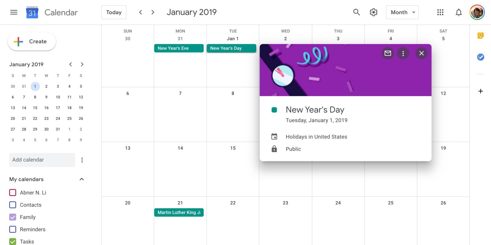 Google Calendar On The Web Updated W Google Material Theme Tweaks 9to5google