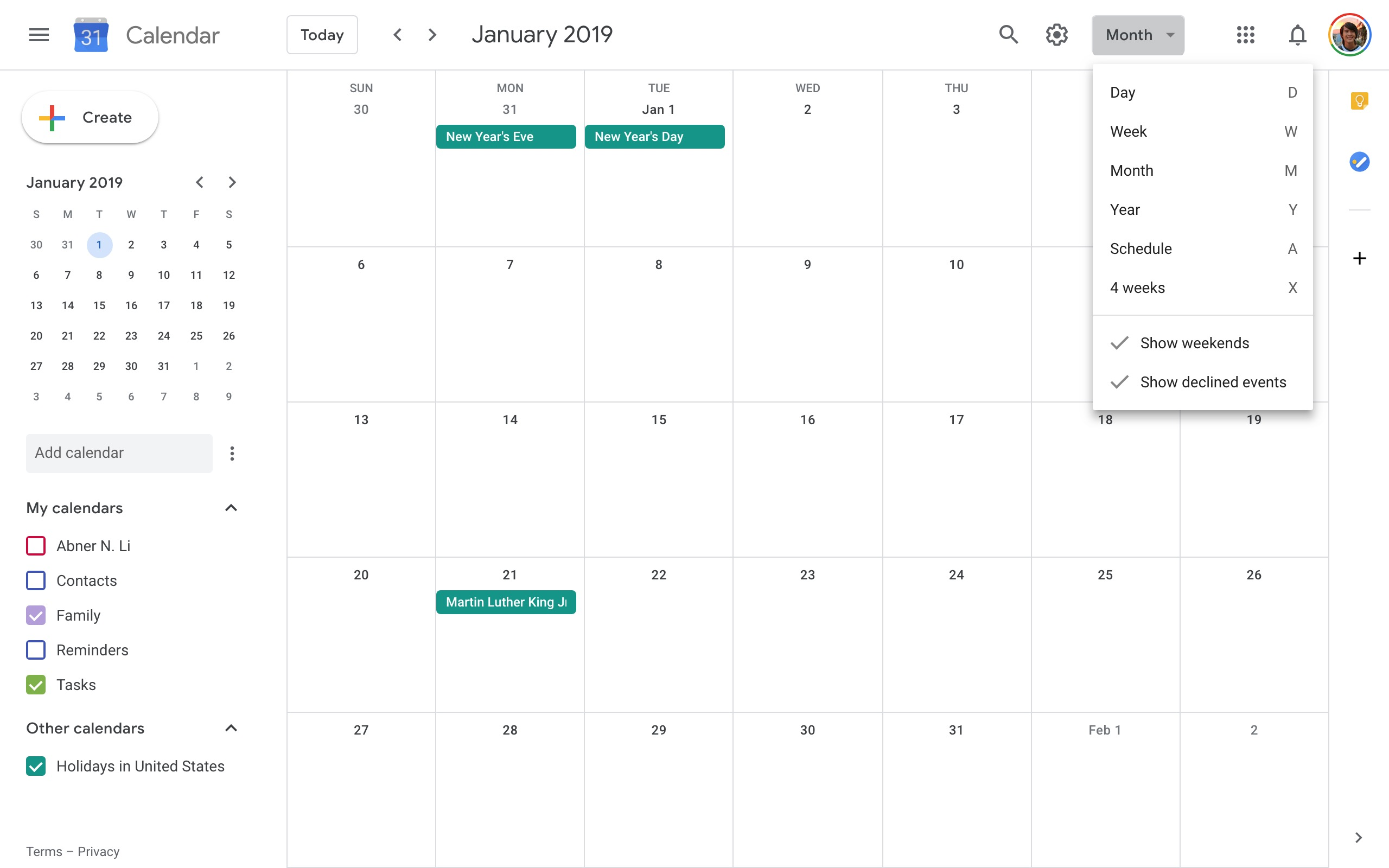 Gogle Calendar.Google Calendar On The Web Updated W Google Material Theme Tweaks