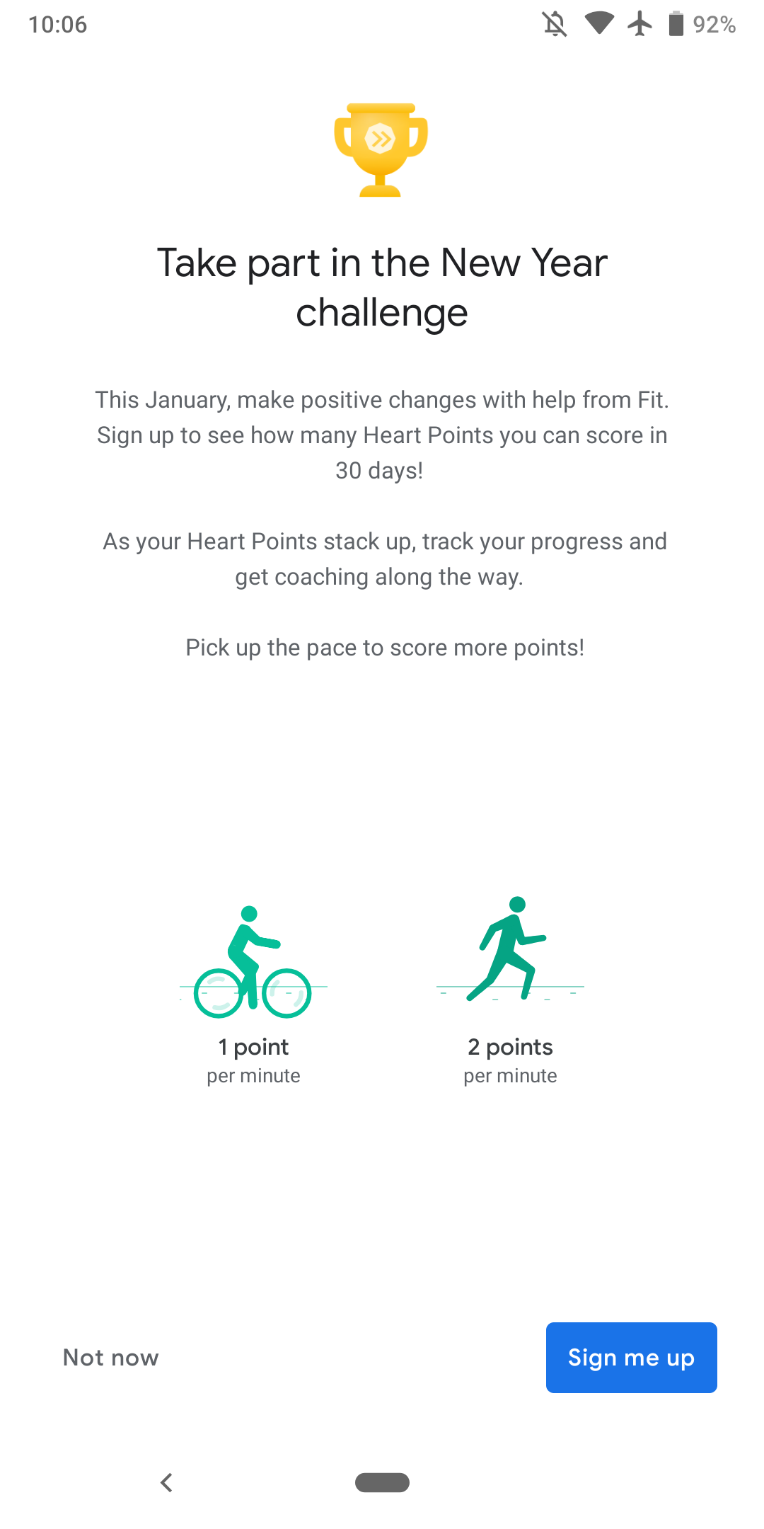 Update: Live] Google Fit adding monthly challenges in 2019 amid