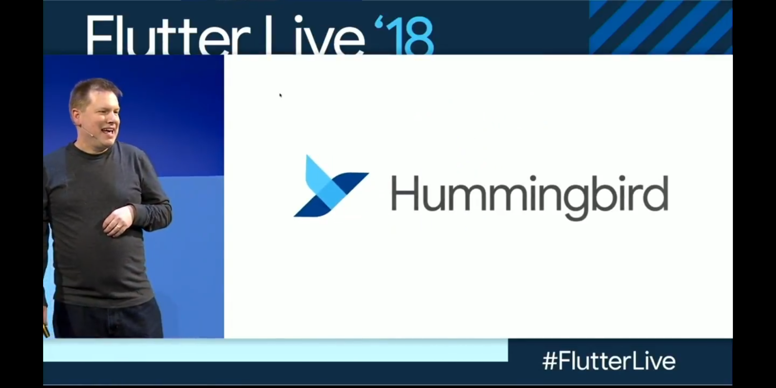 Google announces 'Hummingbird' project to bring Flutter applications to the web