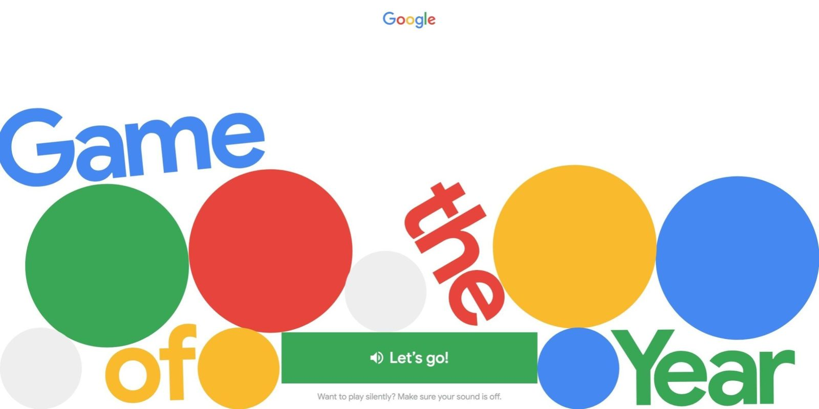 Google releases fun 'Game of the Year' that quizzes you on