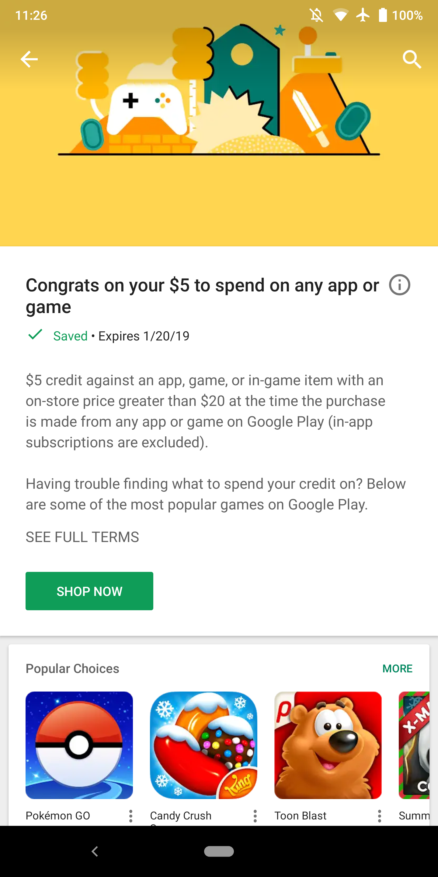 Google offering personalized app discount to some Play Store