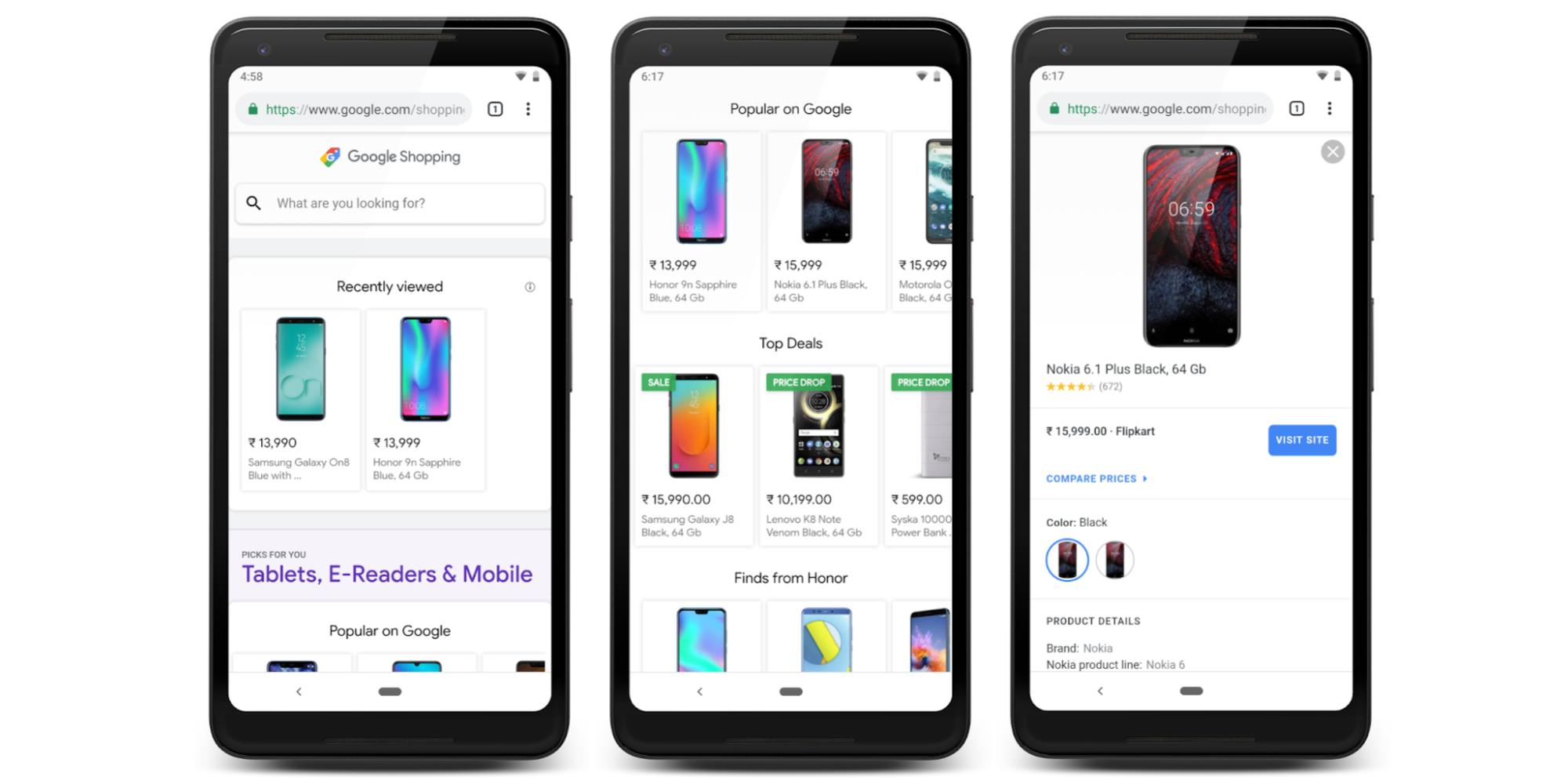 Google Shopping gets new home page w/ Picks for you, Top deals, & price alerts, starting in India
