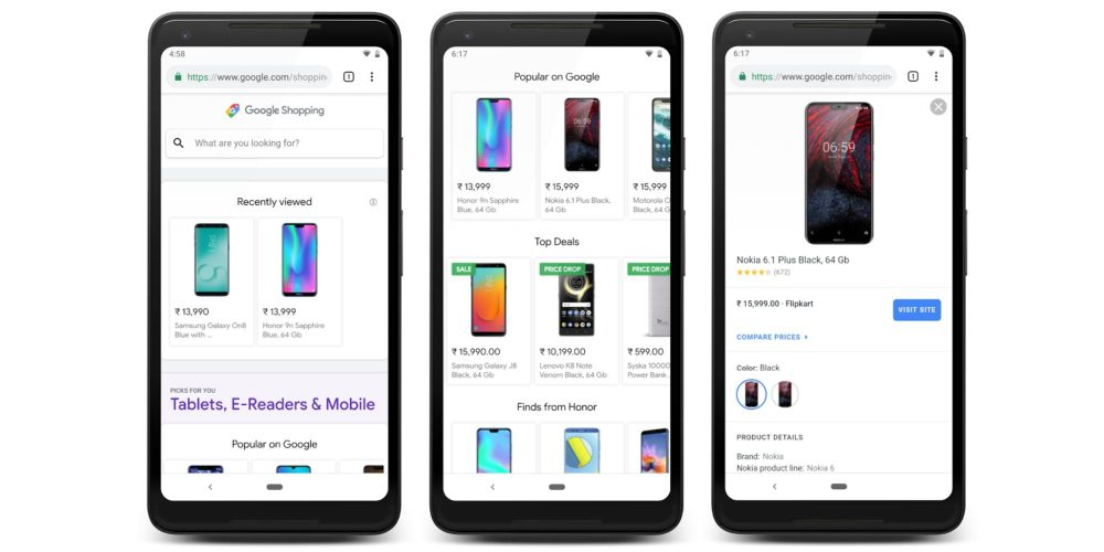 Google Shopping gets new home page w/ Picks for you, Top deals