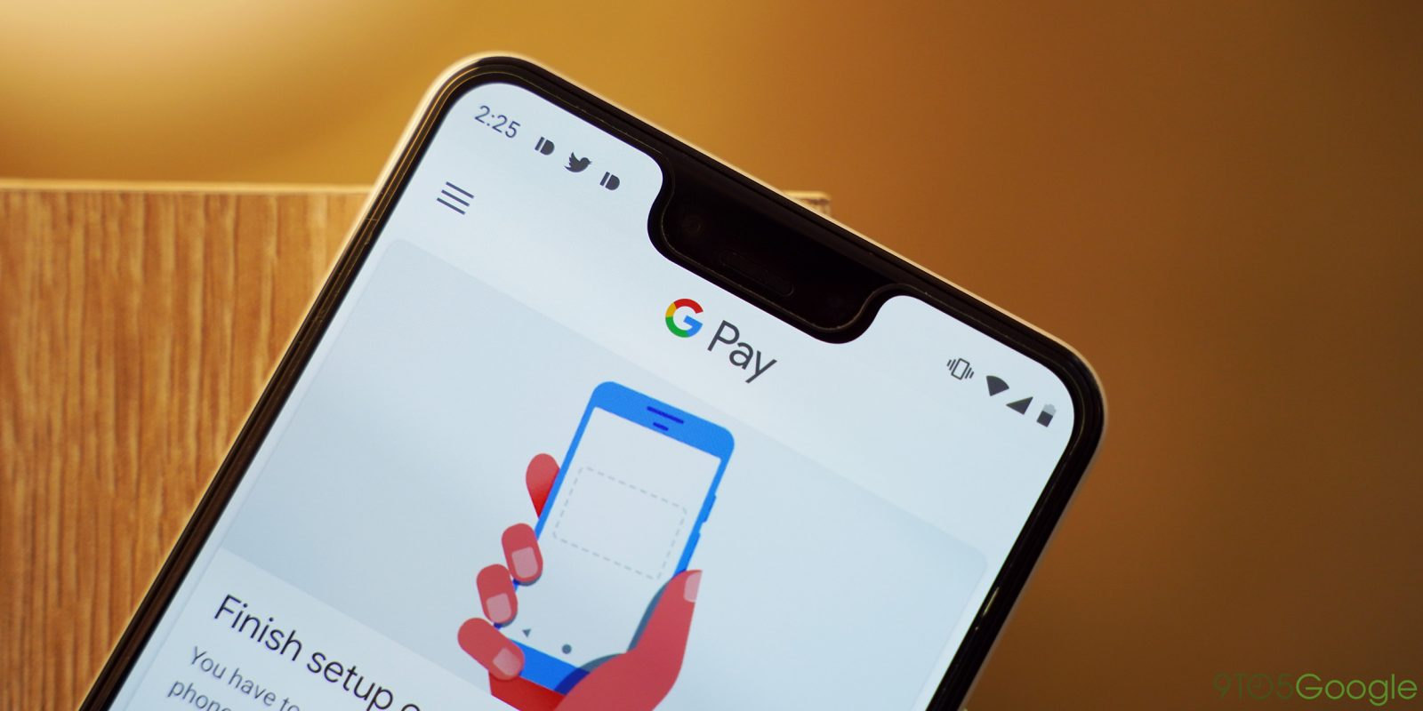 Google Pay adds dark mode in latest v2.96 app update