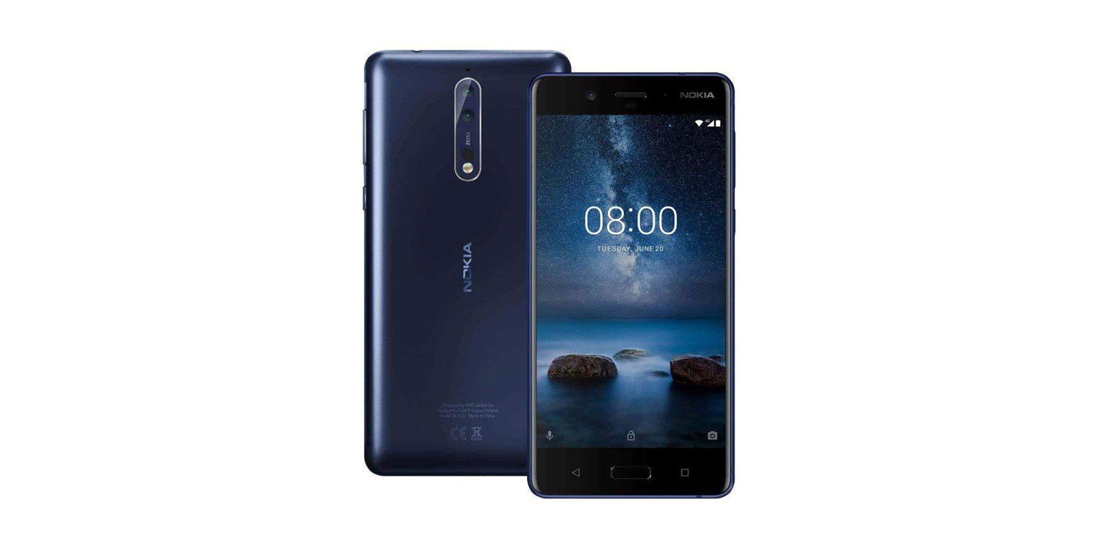 Android 9 Nokia 8