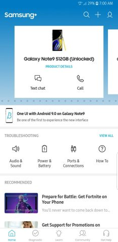 How to sign up for Galaxy Note 9 Android Pie One UI beta