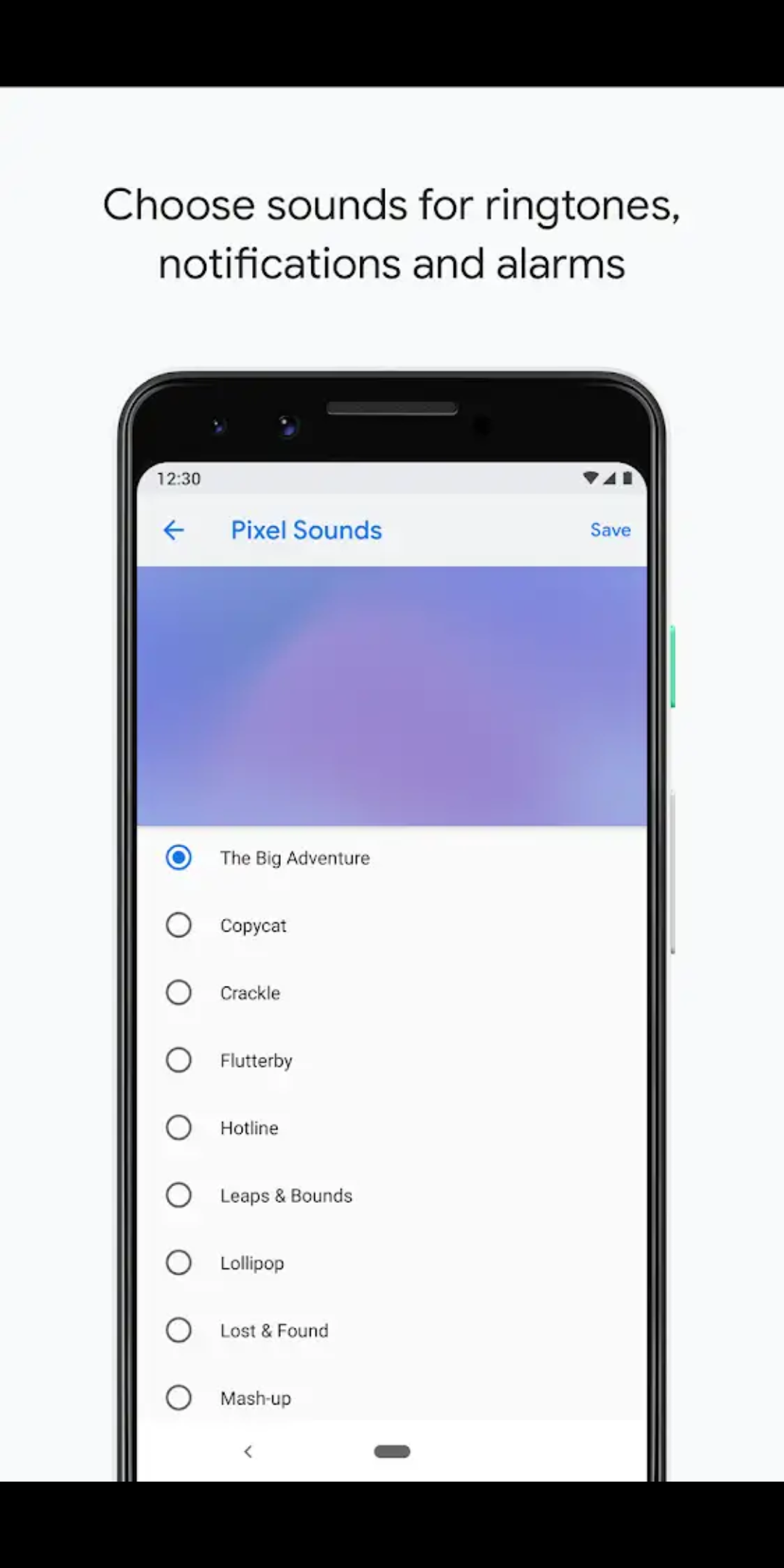 Google uploads Pixel 'Sounds' app to Play Store, reveals visualizer