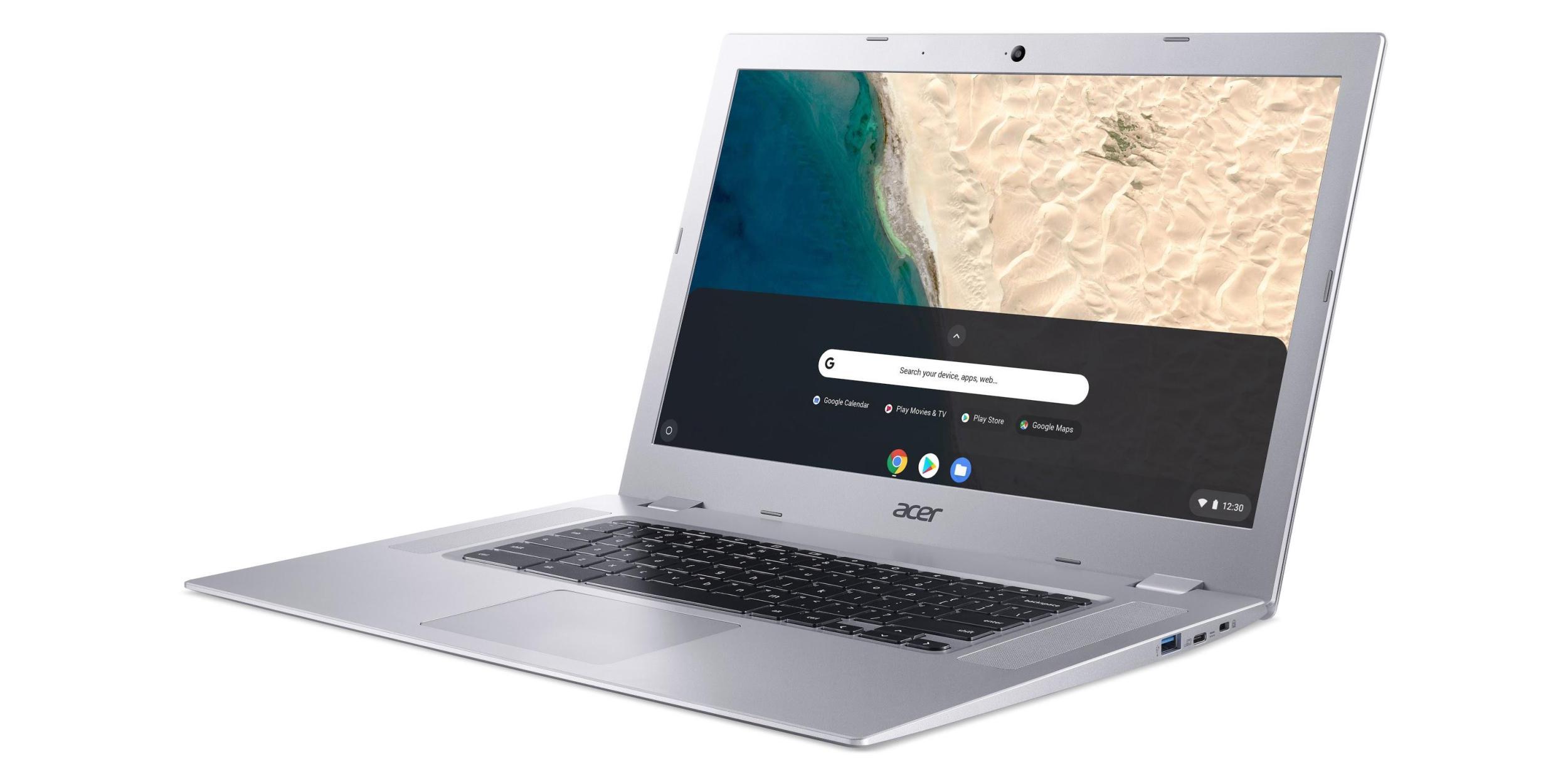 Das Chromebook 315 von Acer ist eines der ersten von AMD betriebenen Chrome OS-Geräte