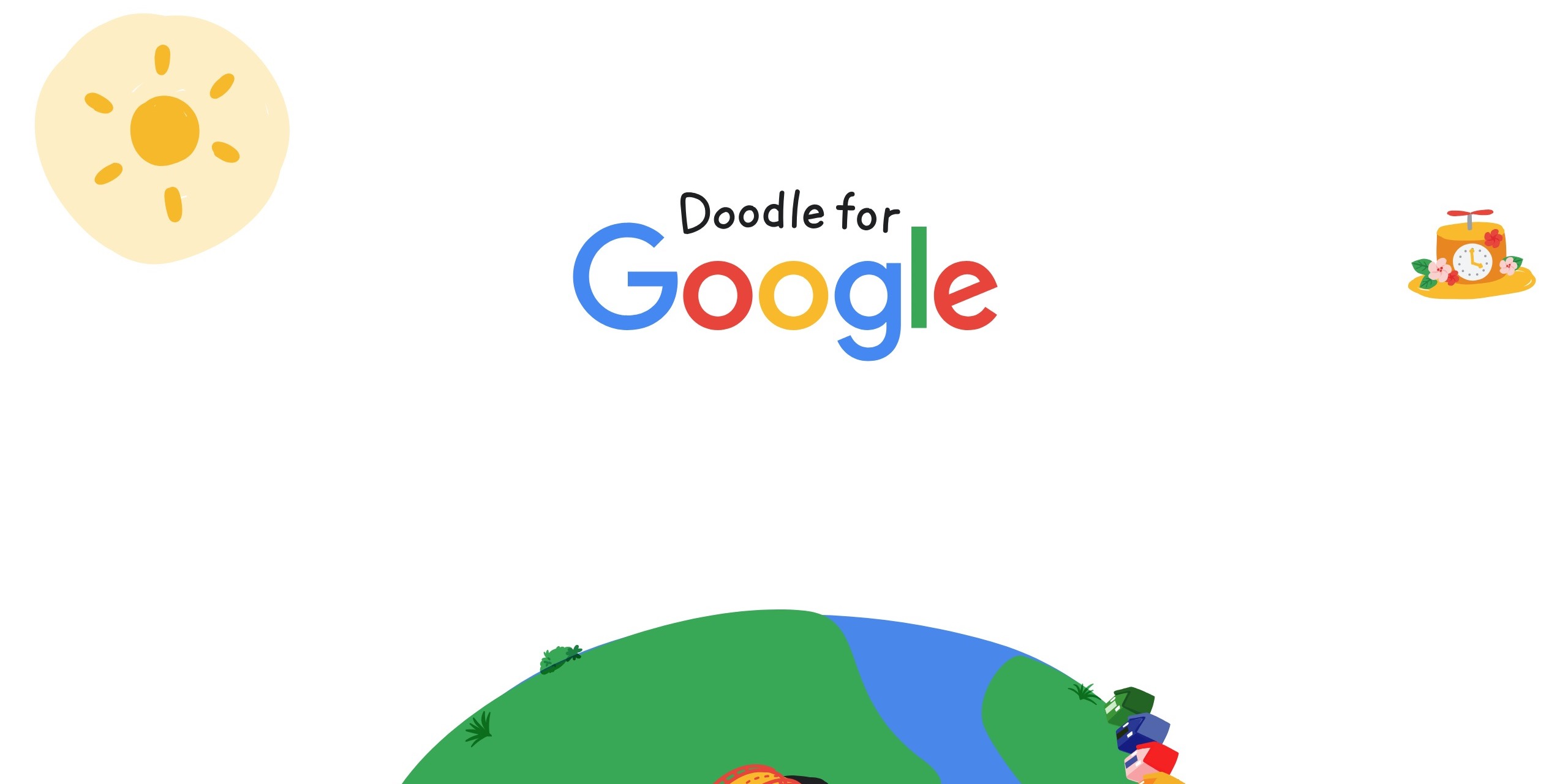 Doodle For Google 2019 Kicks Off With When I Grow Up I Hope Theme 9to5google