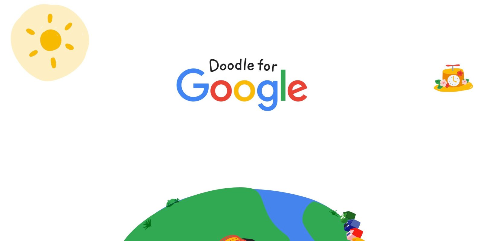 """Doodle for Google 2019 kicks off with """"When I grow up, I hope"""