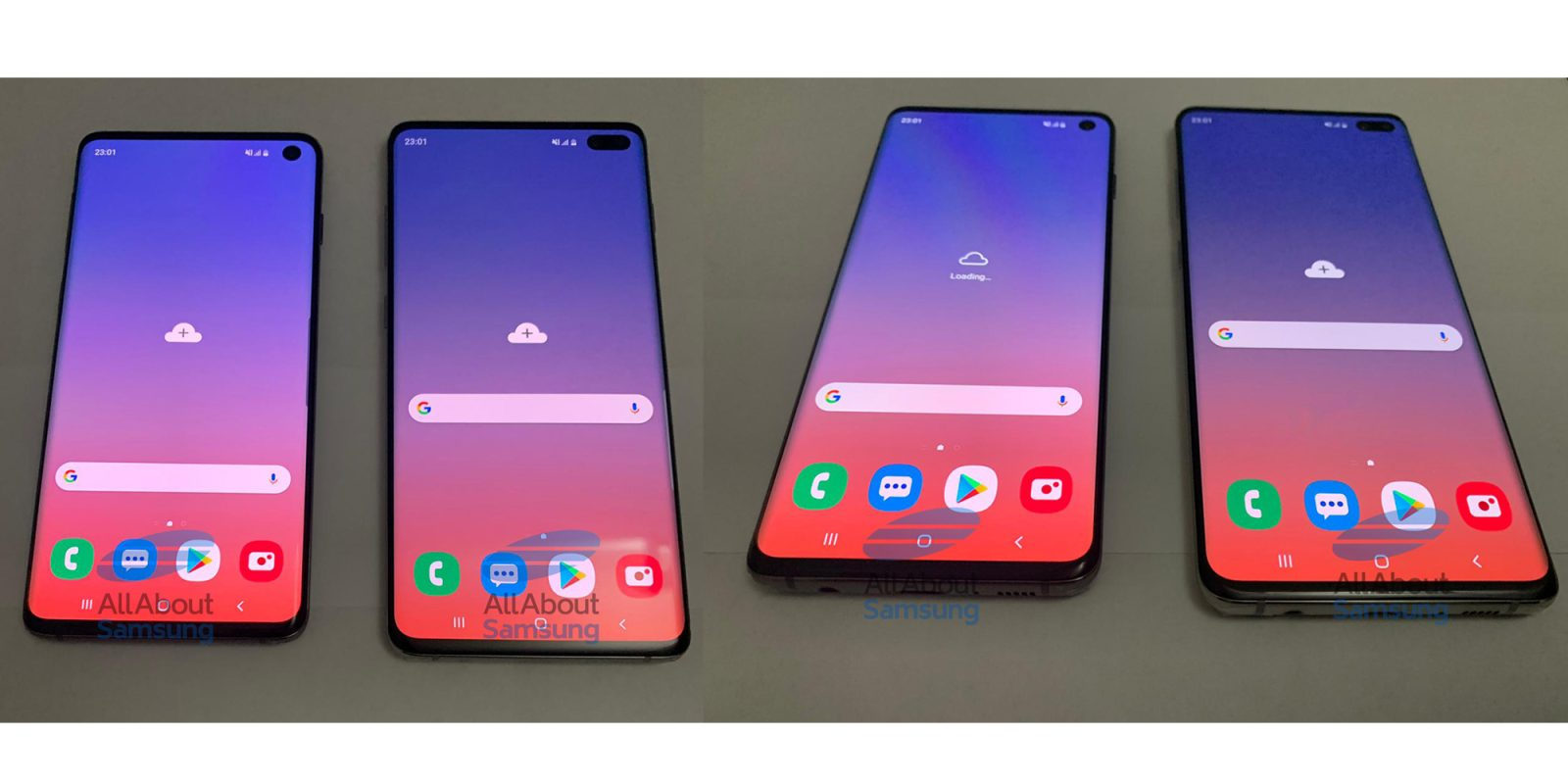 Samsung Galaxy S10 and S10 Plus prototypes leak in full