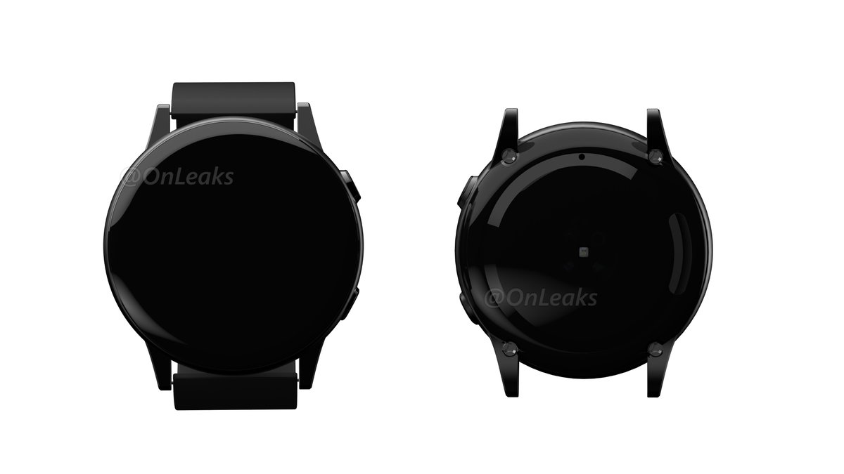 b6ad7aaebb5 Rumored Samsung Galaxy Sport smartwatch uncovered in leaked renders ...