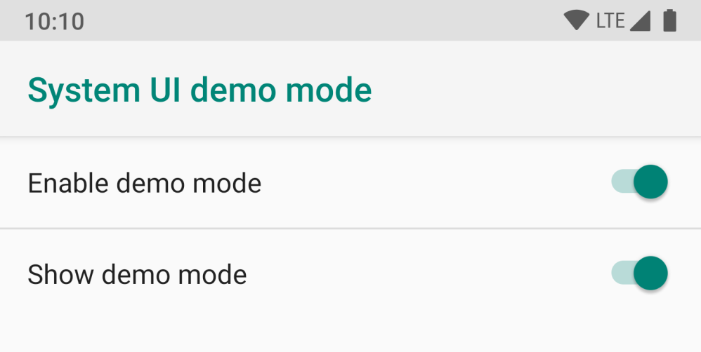 Android Q System UI reveals version 10, face recognition