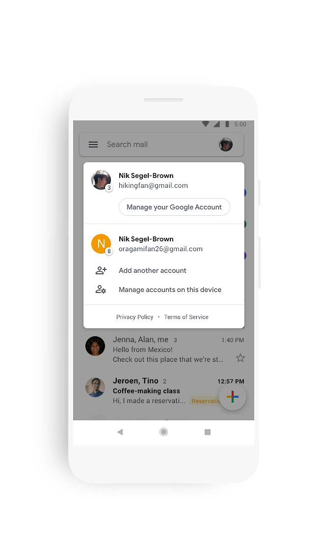 Update: Widely available] Gmail for Android revamped with