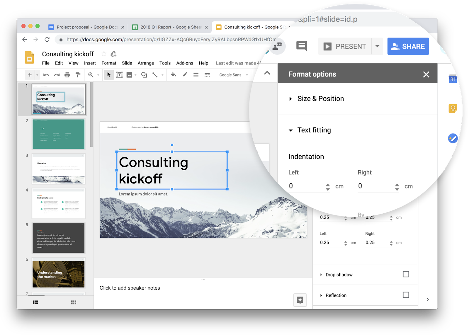 Google Docs Sheets And Slides Rolling Out Google Material Theme