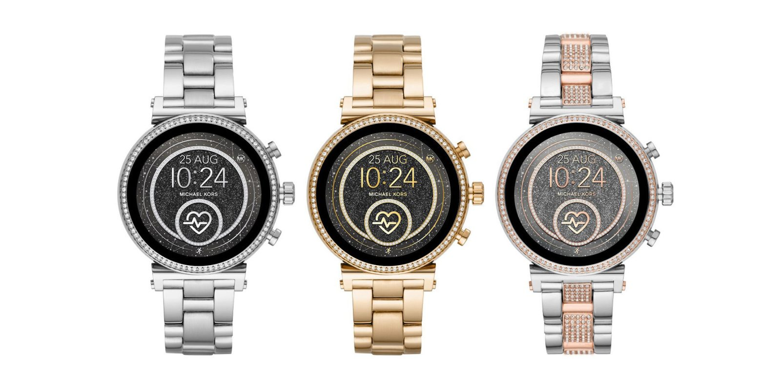 QnA VBage Michael Kors Sofie 2.0 refresh adds NFC for Google Pay, GPS, heart rate monitoring