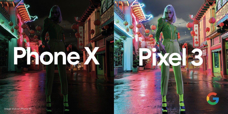 Google Pixel 3 vs iPhone XS in new Night Sight camera ad - 9to5Google