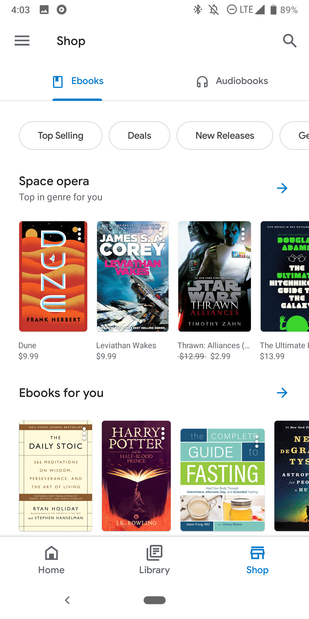 Play Books with Google Material Theme revamp more widely rolling out