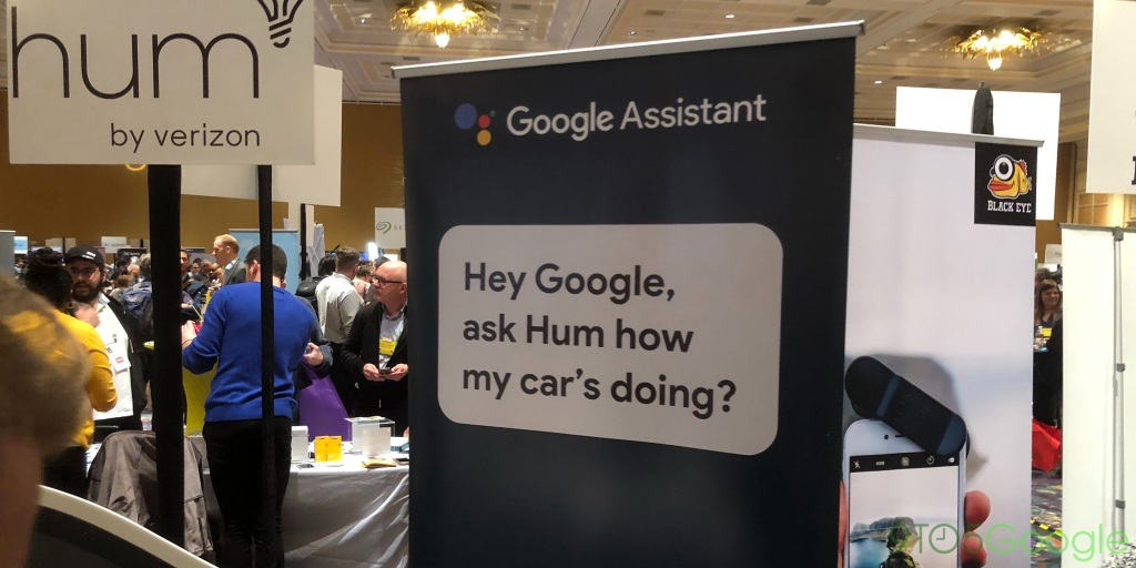 Verizon's Hum brings a Google Assistant speaker to the car