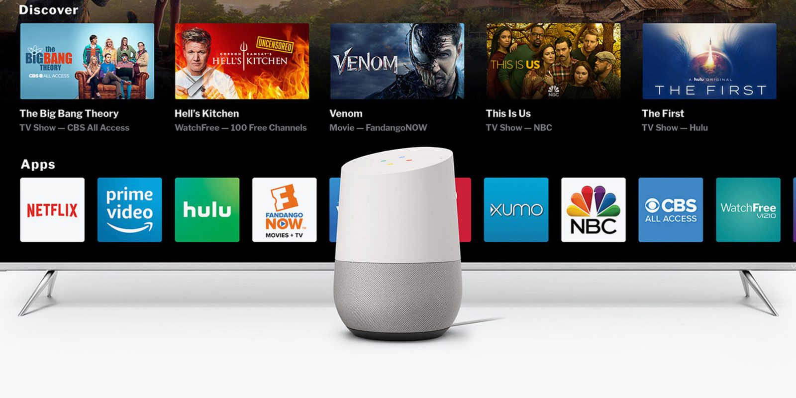 Hands-on: Vizio SmartCast 3 brings Google Assistant control