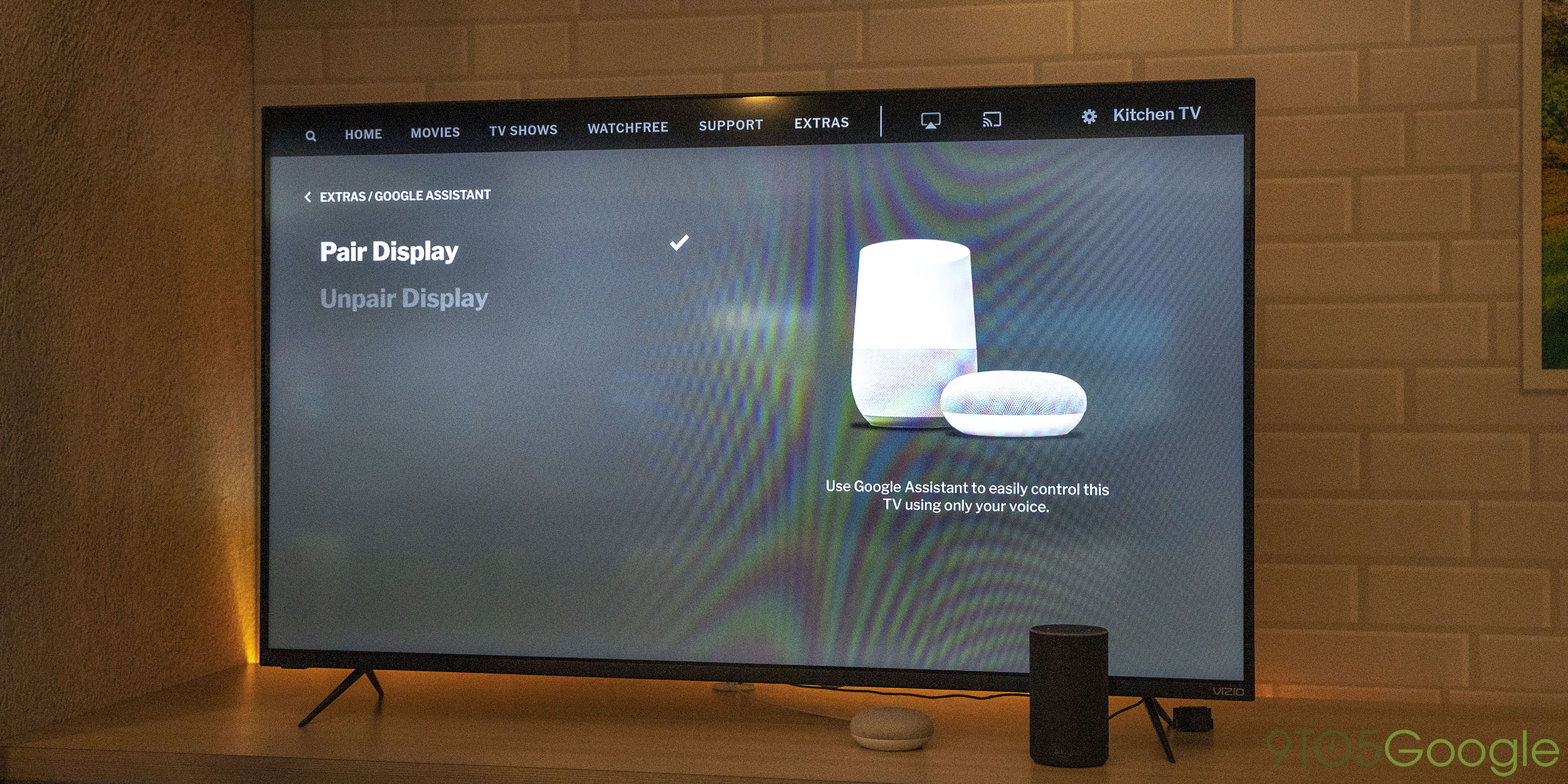 Hands On Vizio Smartcast 3 Brings Google Assistant