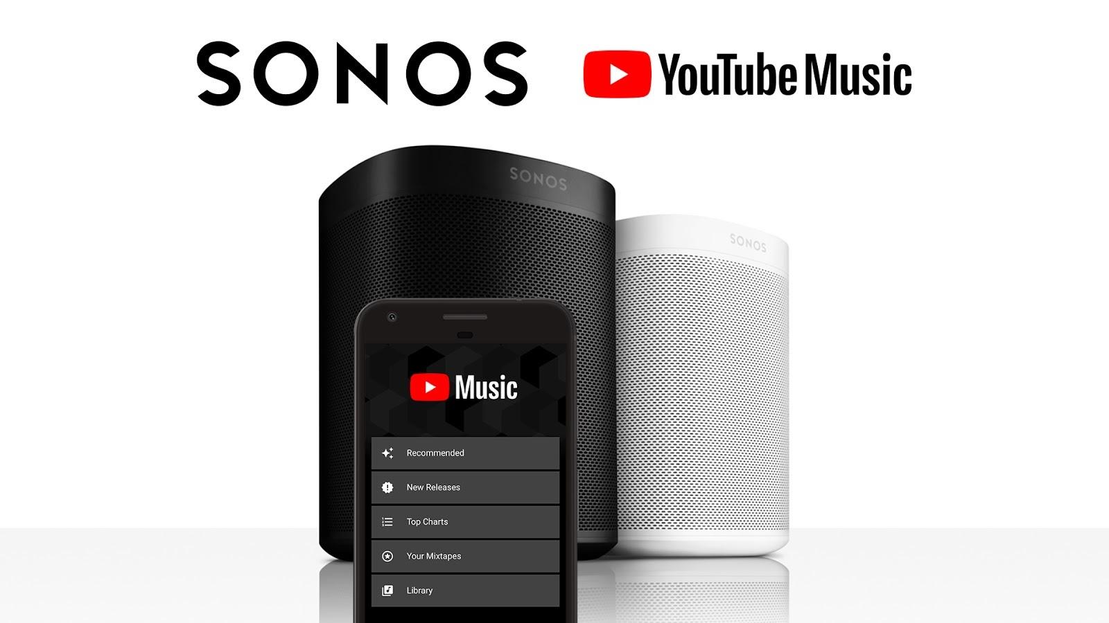Youtube Music Adds Sonos Speaker Integration Premium