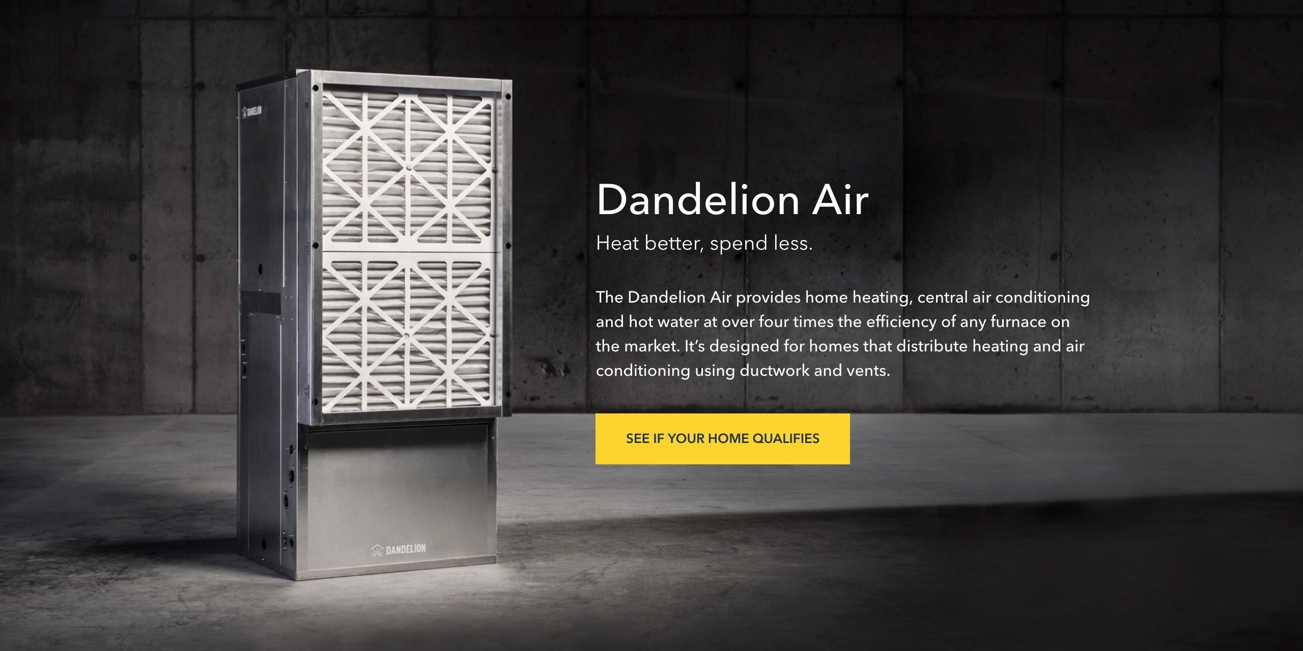 GV investiert in Dandelion Energy, nachdem die geothermische Erwärmung / Abkühlung von Alphabet ausgegliedert wurde
