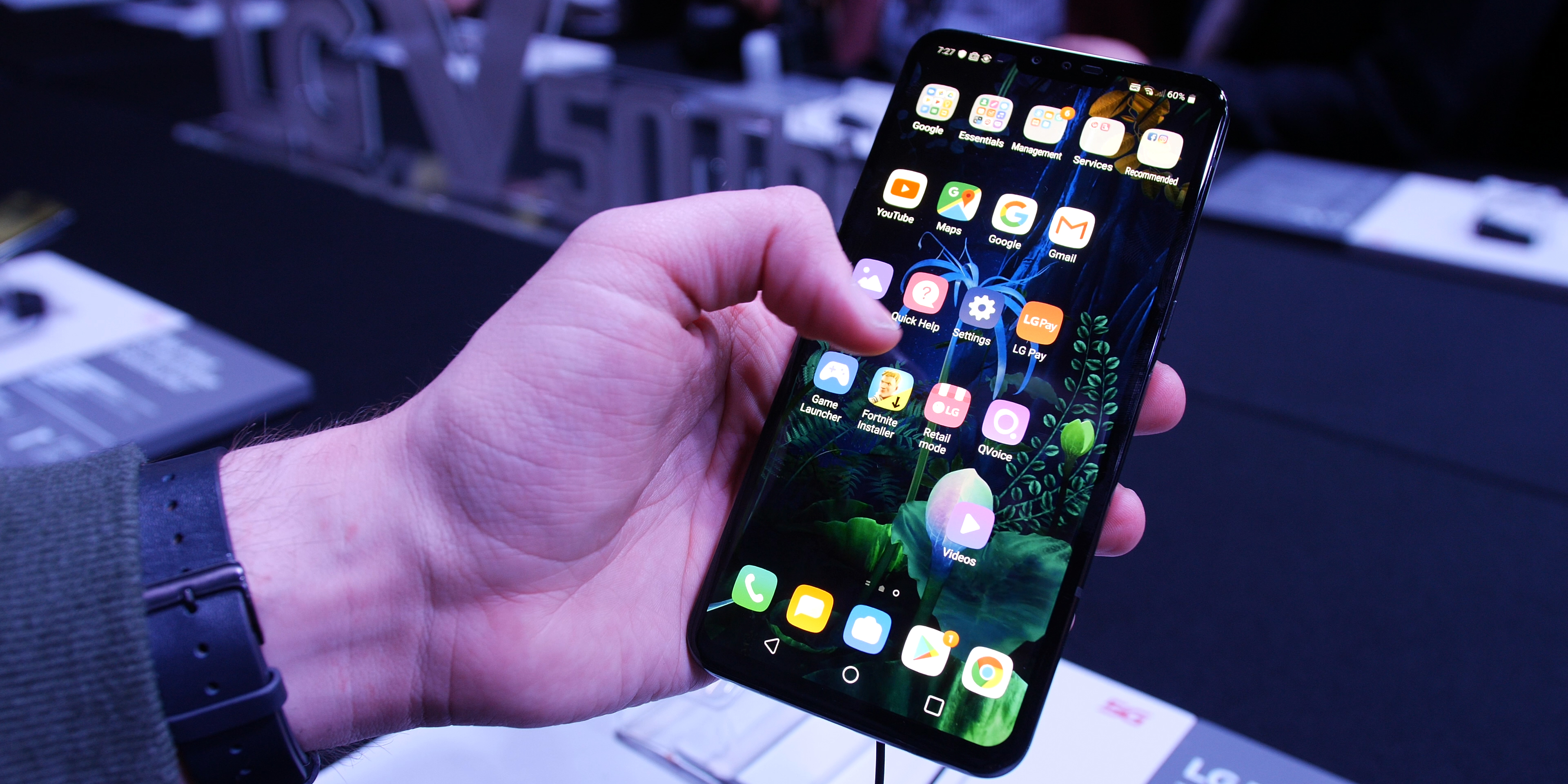 LG V50 ThinQ software and performance