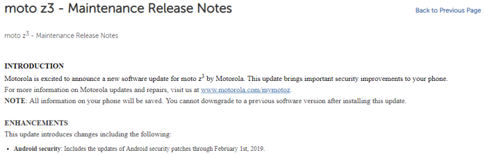 Moto Z3, Moto G5, G5 Plus receiving February security patch - 9to5Google