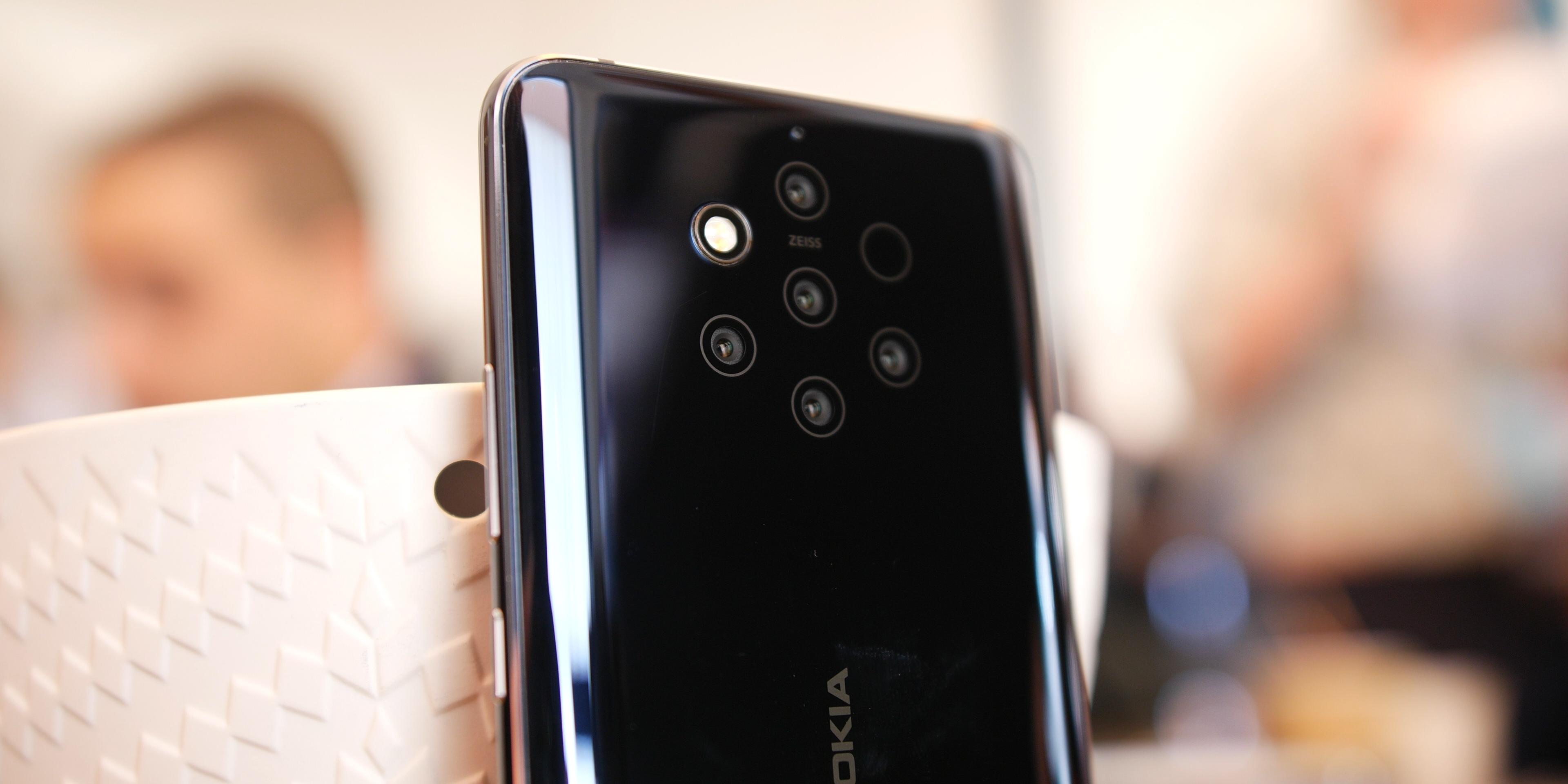 Nokia 9 PureView camera