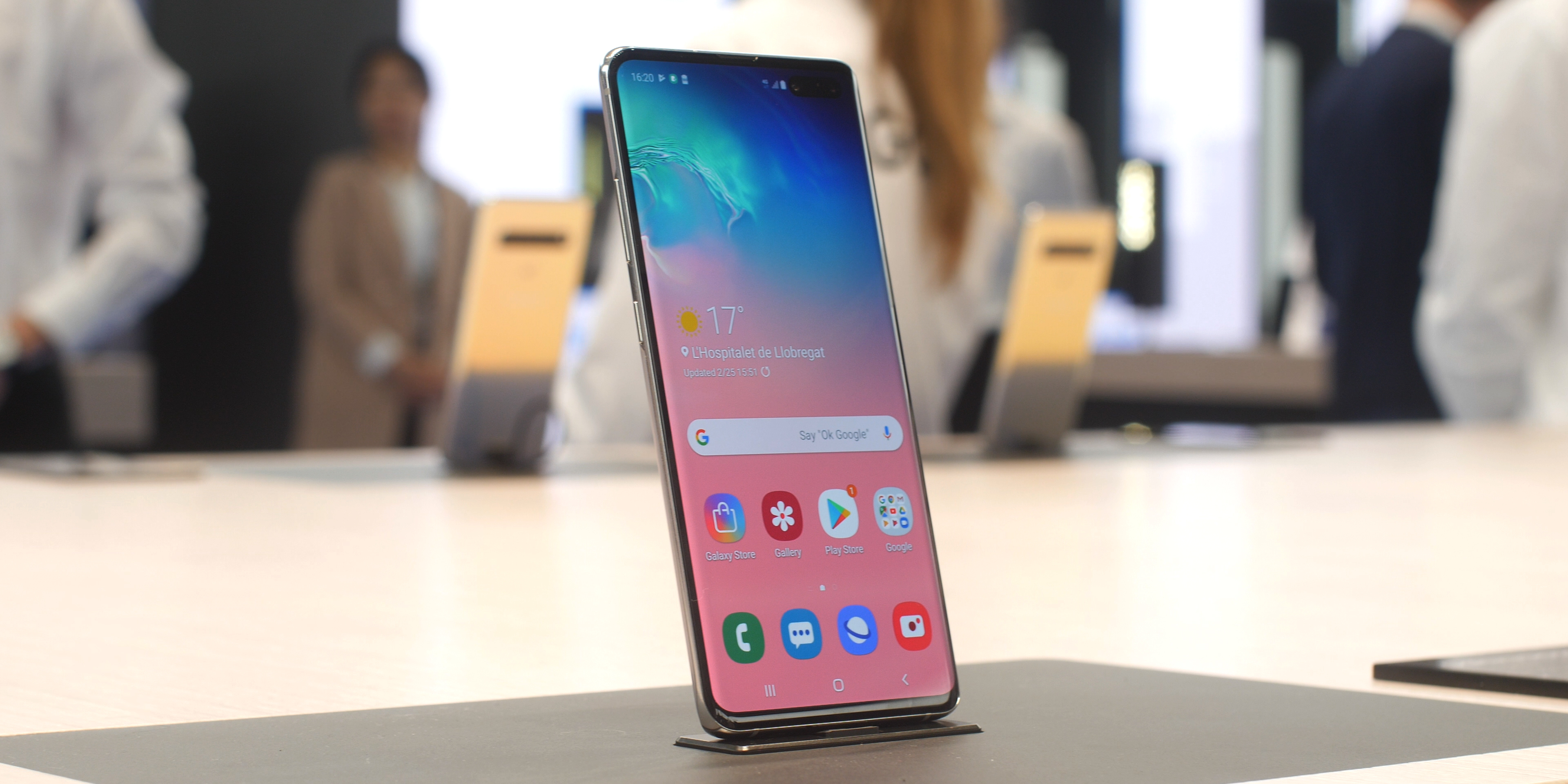 The Galaxy S10 5G now has an expected release date of April 5