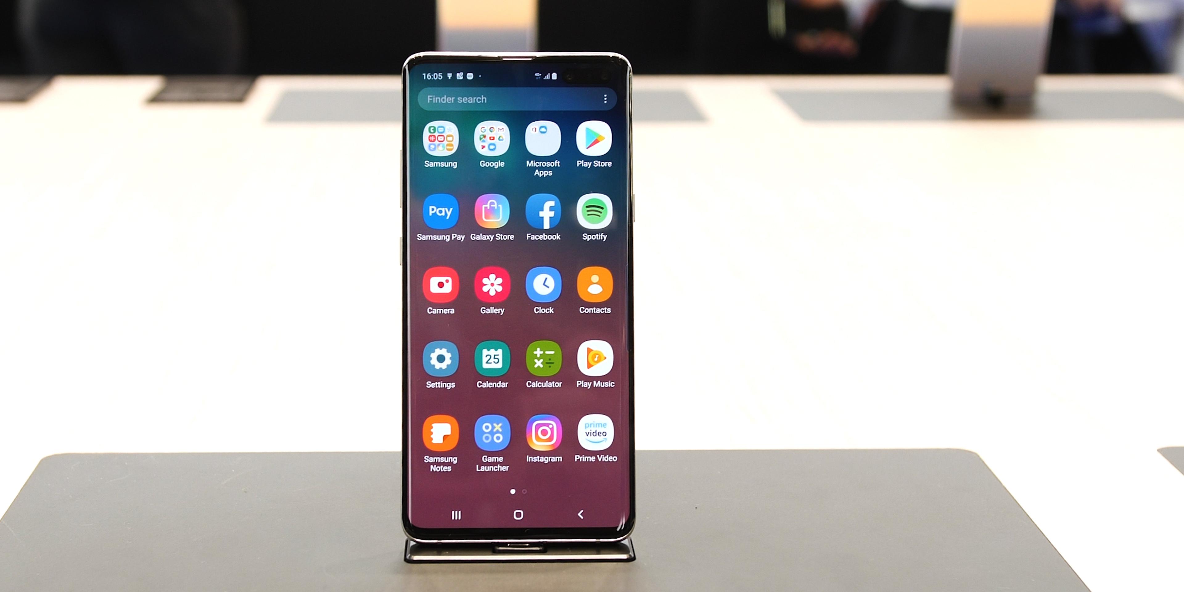 Samsung Galaxy S10 5G hardware and design