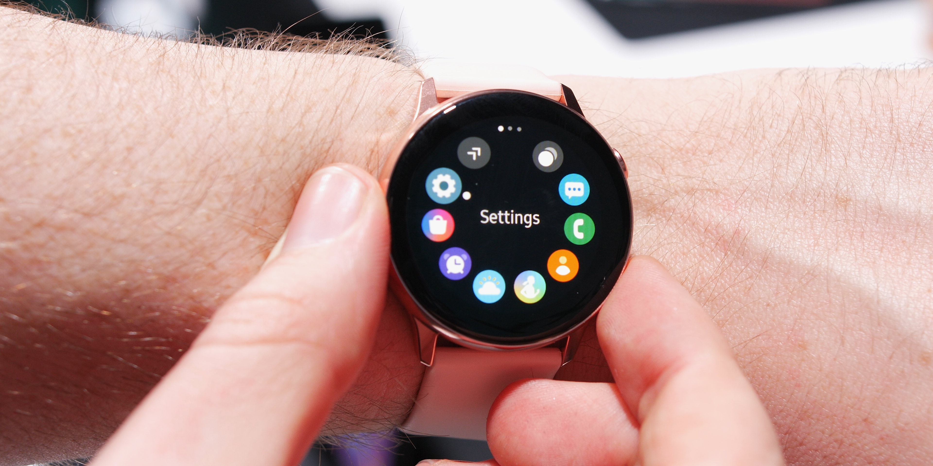 galaxy wearable app gets one ui as you buy watch active