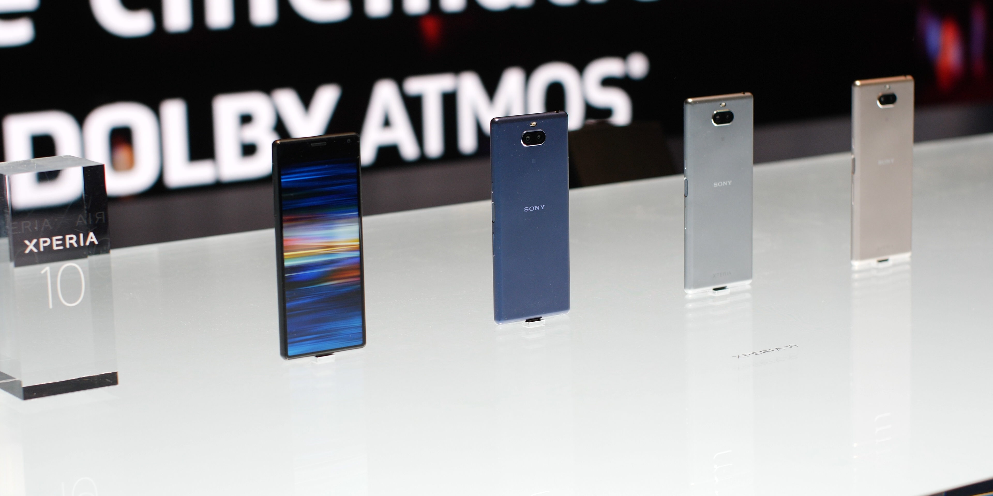 Sony Xperia 10 design and hardware
