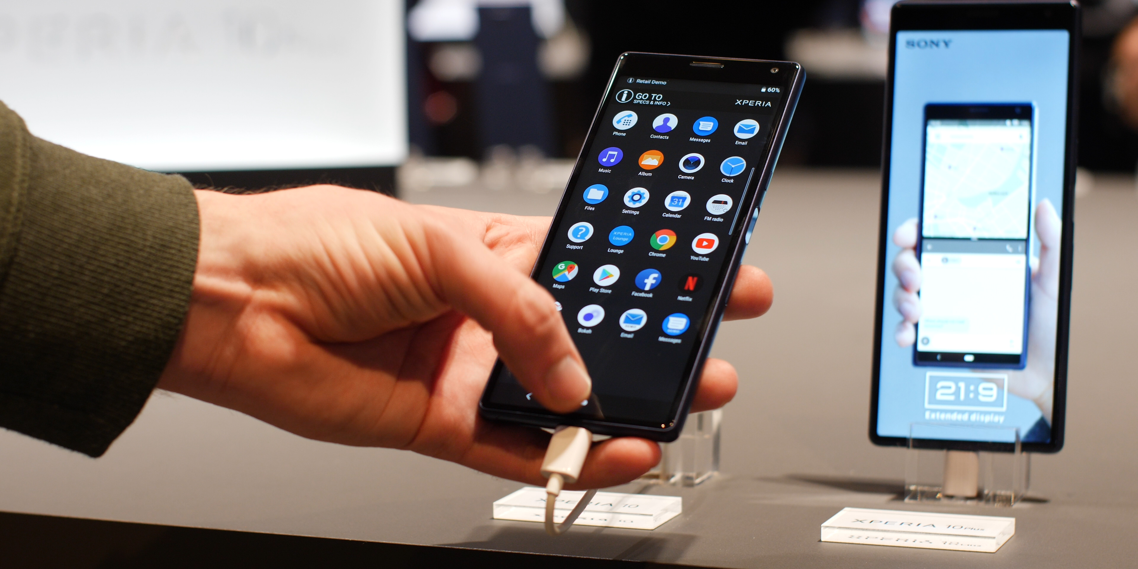 Sony Xperia 10 software and performance