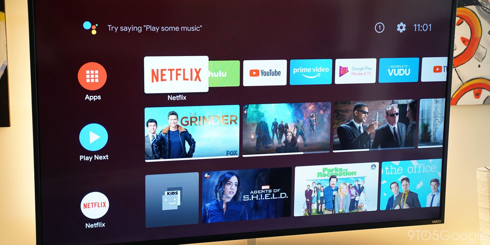 Android TV homescreen update delivers more polished look w