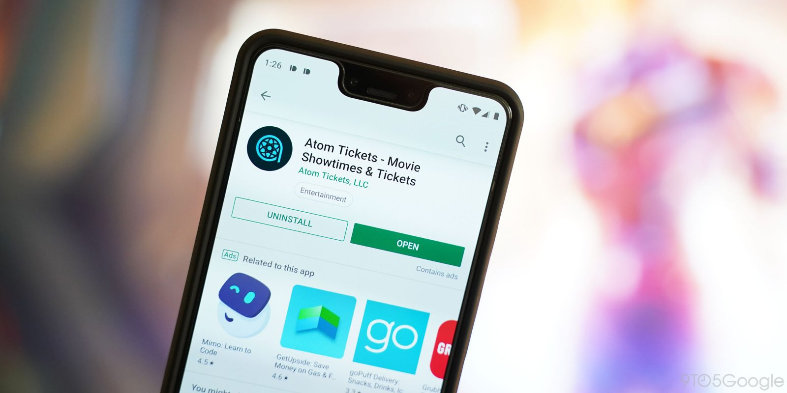 Atom Tickets adds Google Pay, Samsung Pay support for buying