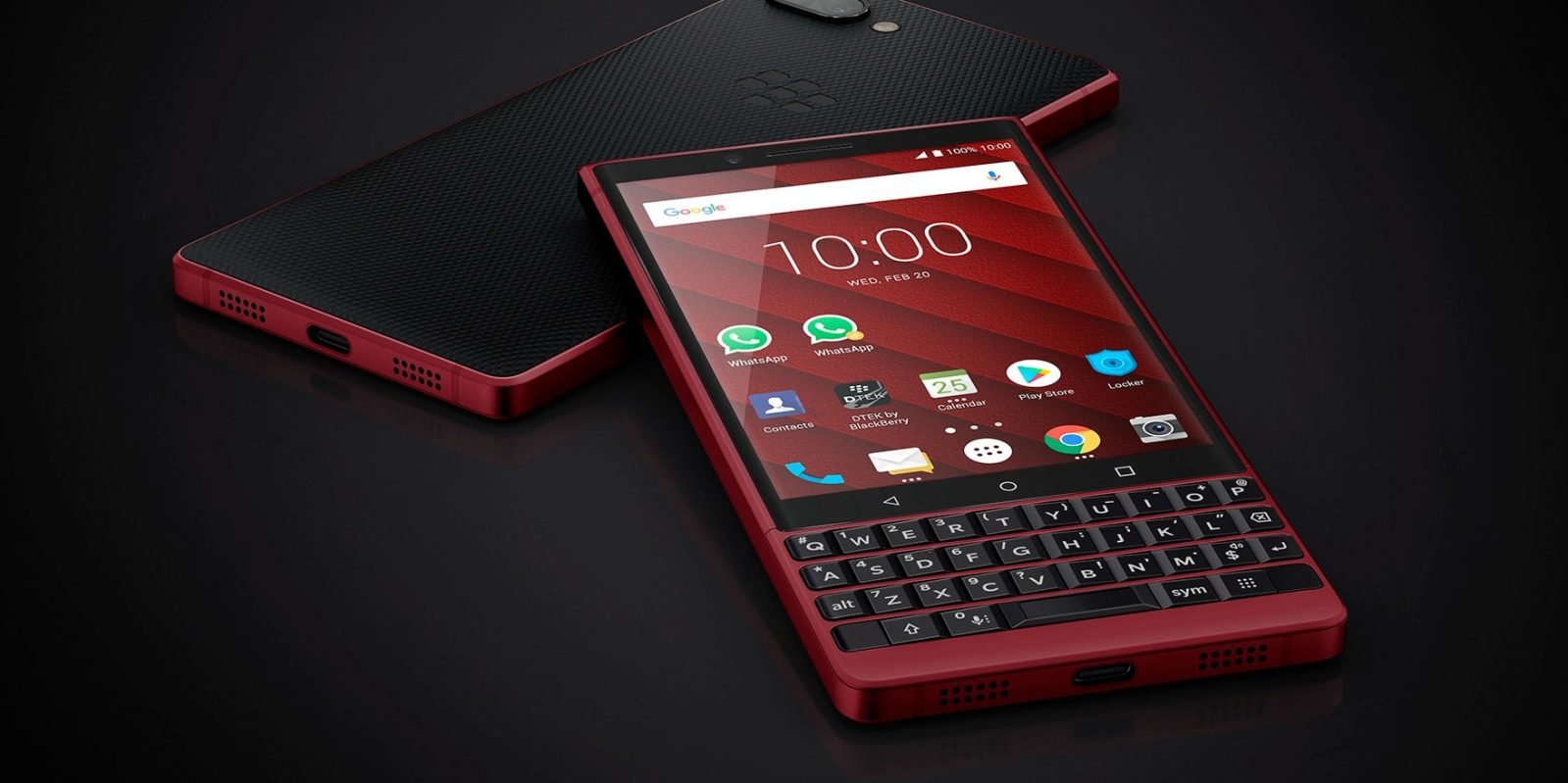 BlackBerry Key2 Red, four new Alcatel phones go official