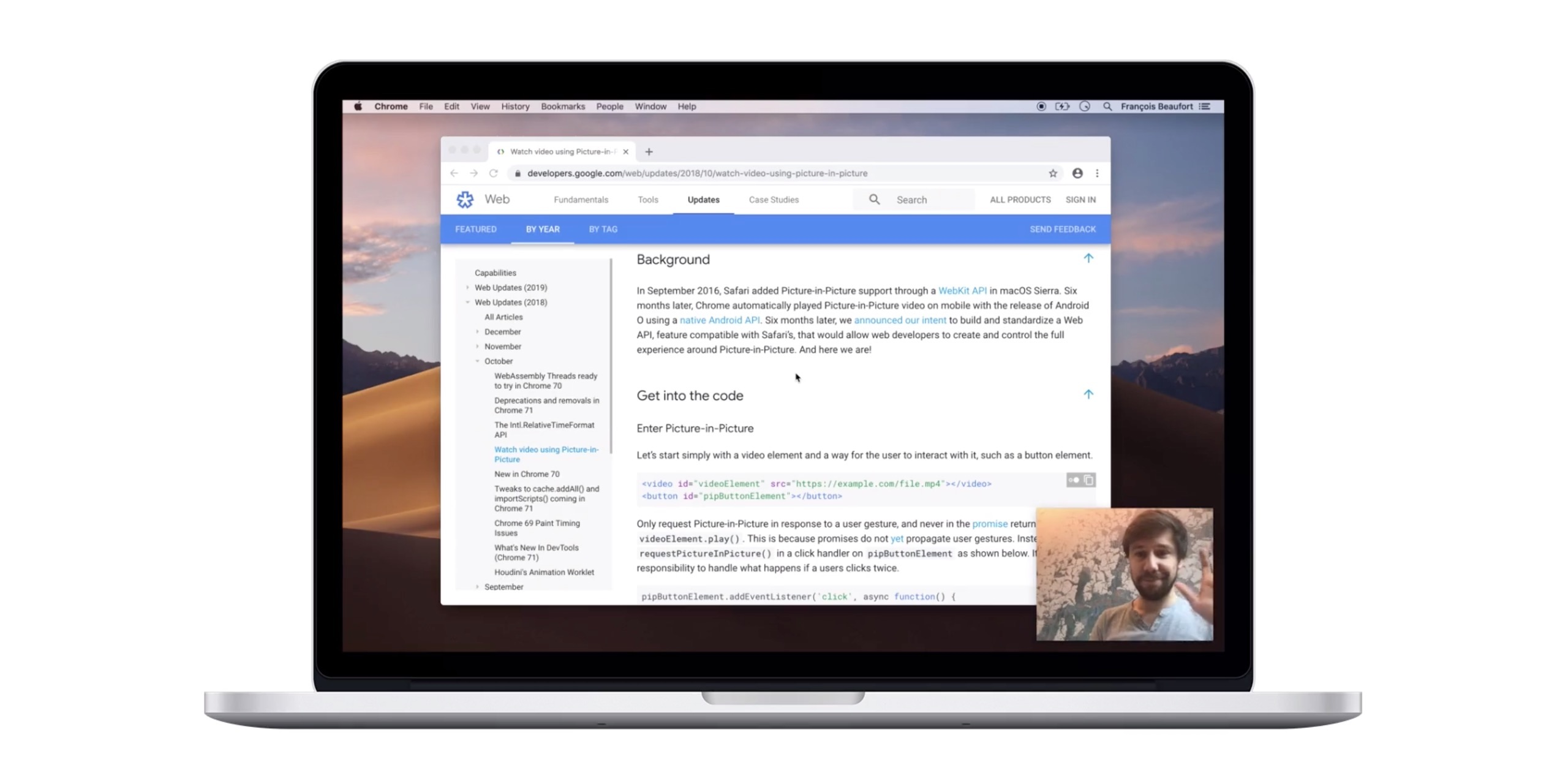 Chrome 73 beta adds new Chrome Sync features, support for Auto PiP