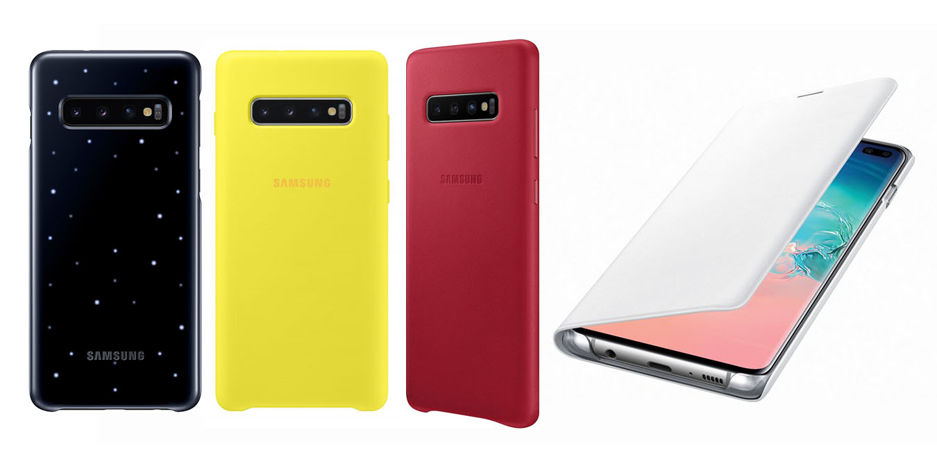 led cover samsung s10
