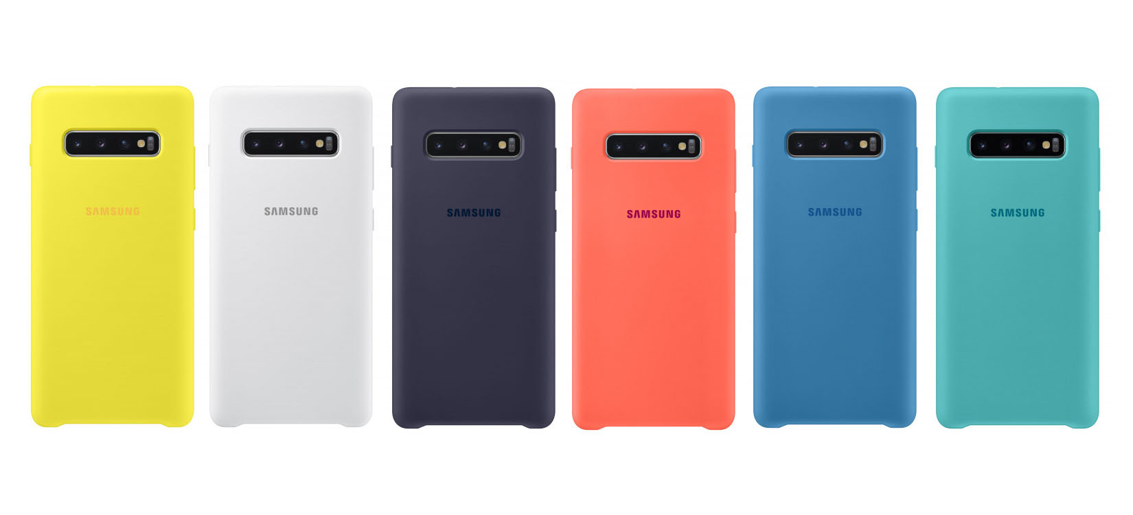 Galaxy S10 leak shows off new official cases, 'LED Cover,' plastic