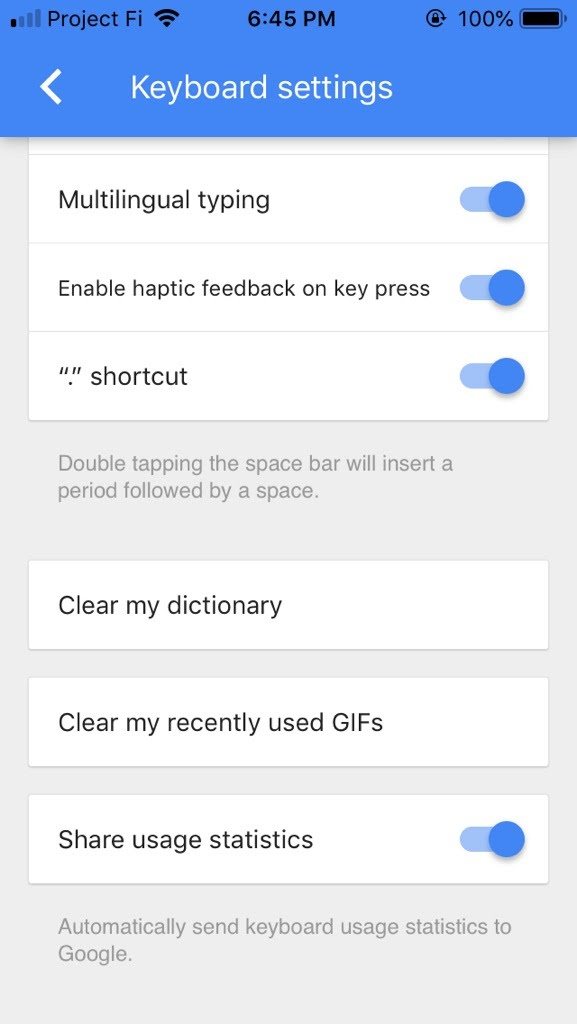 Gboard for iOS updated with haptic feedback - 9to5Google