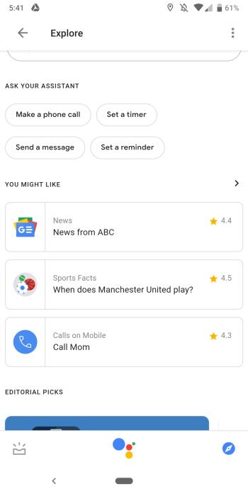 Google app 9.21
