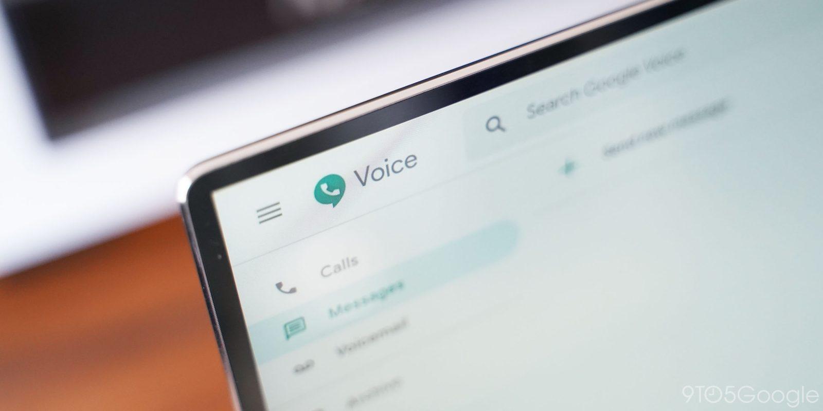 Google Voice web app gains always-visible call panel, audio controls