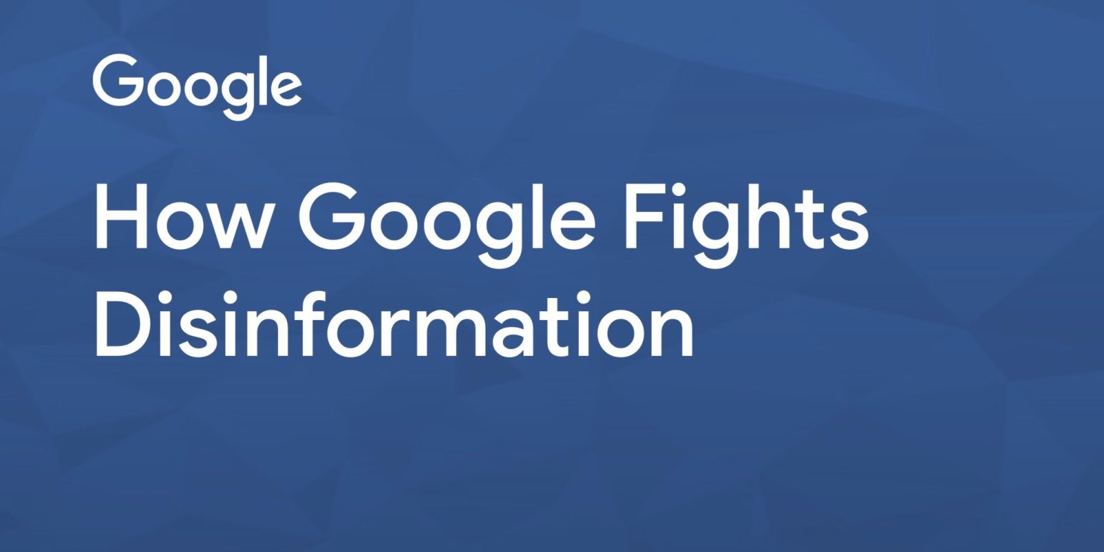 Image result for google white paper misinformation