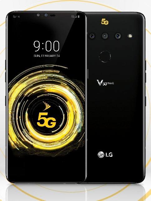 lg v50 thinq leak for sprint