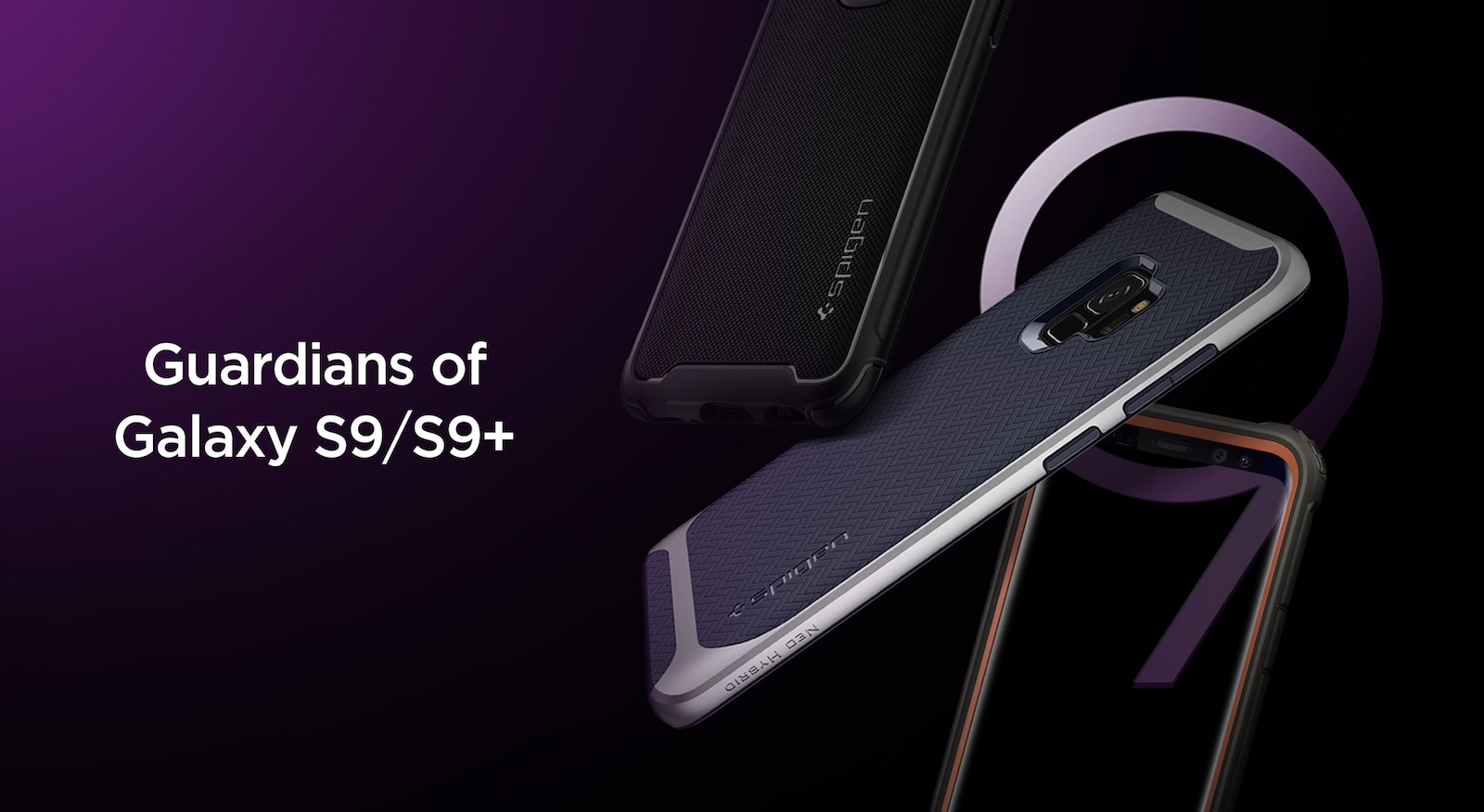 best website 0b687 92691 Spigen launches Samsung Galaxy S9 & S9 Plus cases & accessories ...