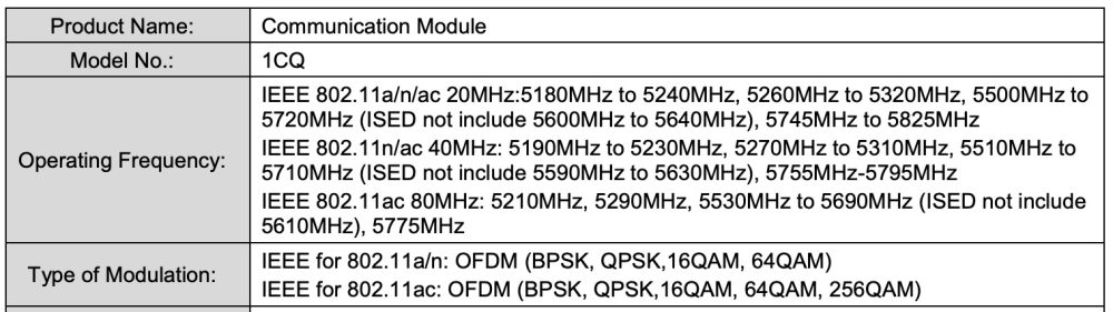 new Google Wifi fcc