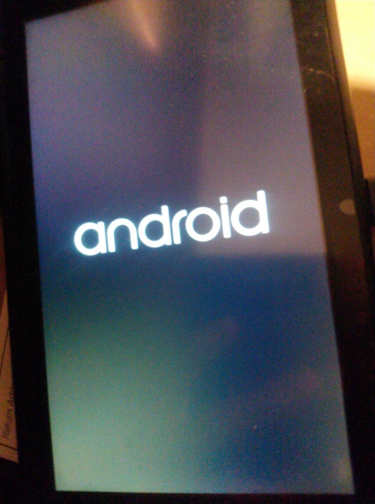 nintendo switch android boot screen